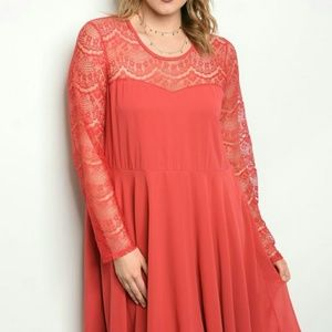 ♋Plus size Dress 1X and 3X only